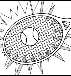 sports clip art black and white sports clip art coloring page [ 1200 x 1200 Pixel ]