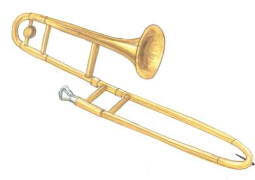 small resolution of trombone clipart