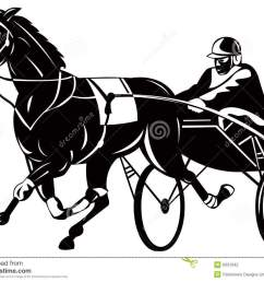 harness racing clipart trotter stock illustrations  [ 1300 x 1019 Pixel ]