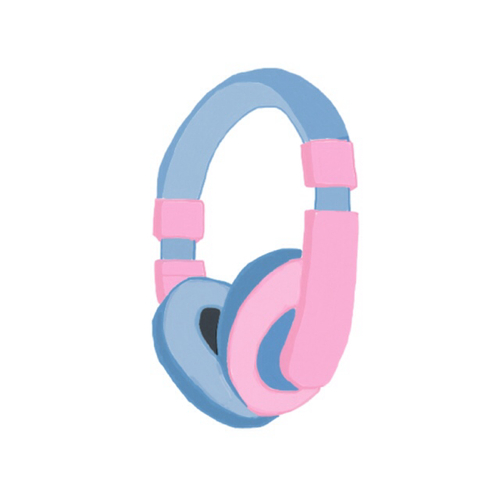Pink Animal Print Wallpaper Tumblr Clipart Head Phones Clipground