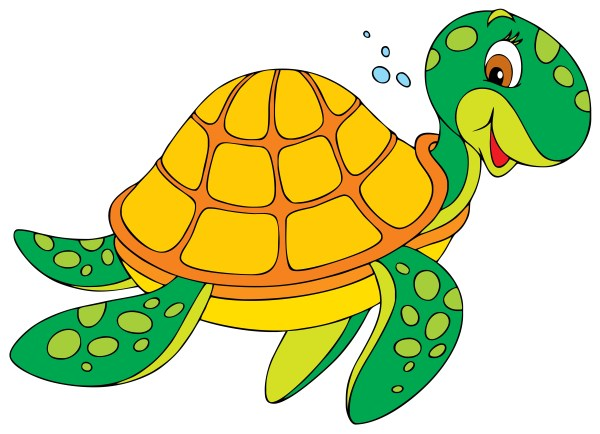 turtle swimming clipart - clipground