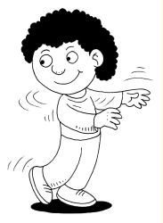 clipart twist twisting boy cliparts clipground tooth