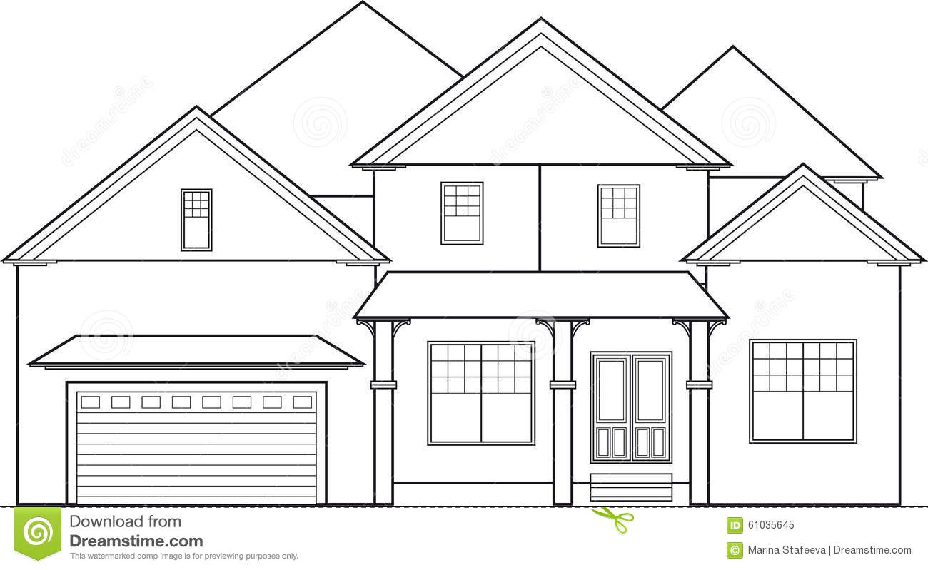 hight resolution of house outline with two story outline clipart house outline