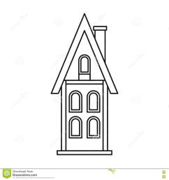 download two story house outline clipart 11 jpg [ 1300 x 1390 Pixel ]