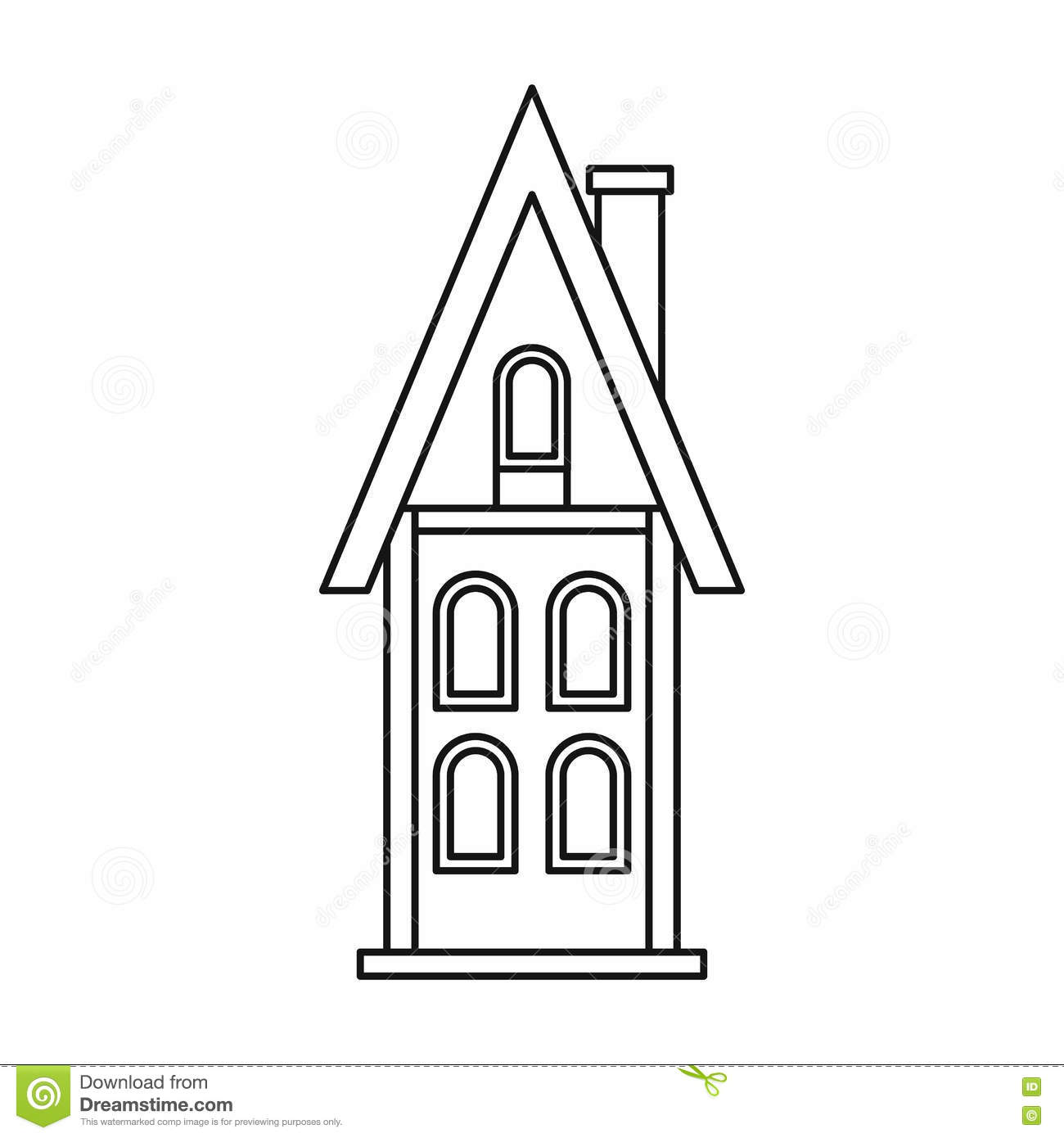 hight resolution of download two story house outline clipart 11 jpg