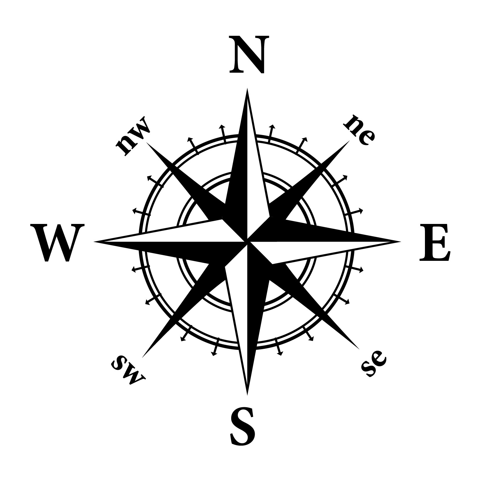 Vintagw Map Compass Clipart 20 Free Cliparts