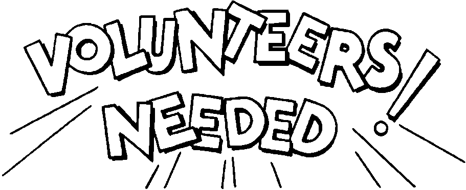 Volunteer Clipart Black And White