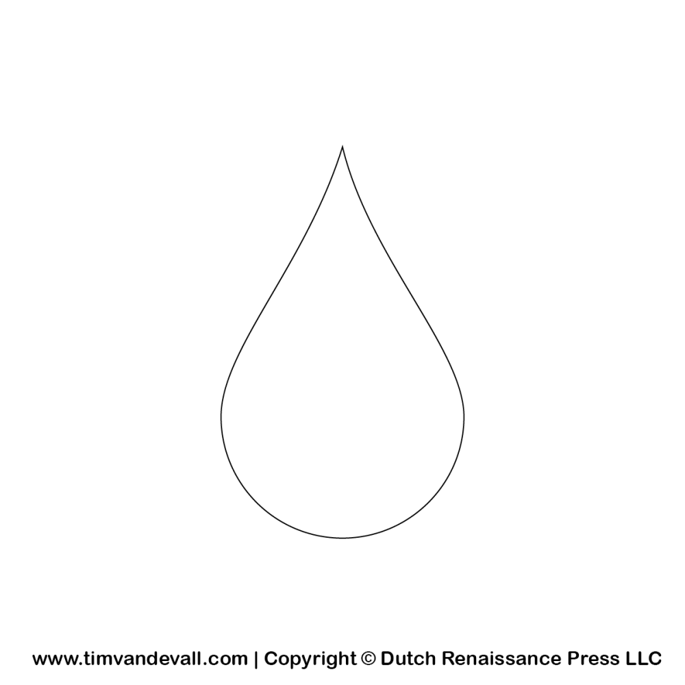 medium resolution of water drop percentage clipart black and white