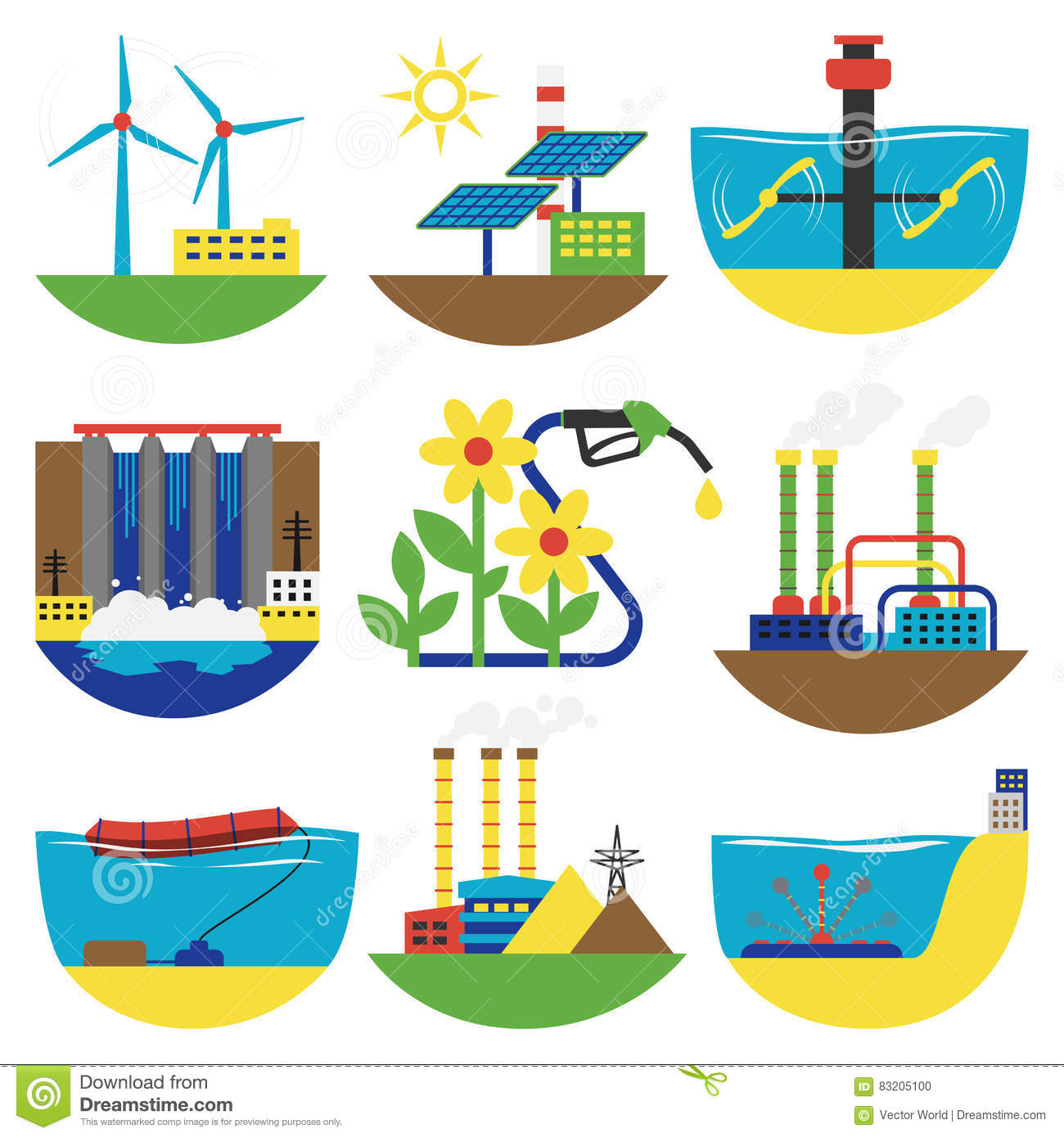 Water Energy Clipart