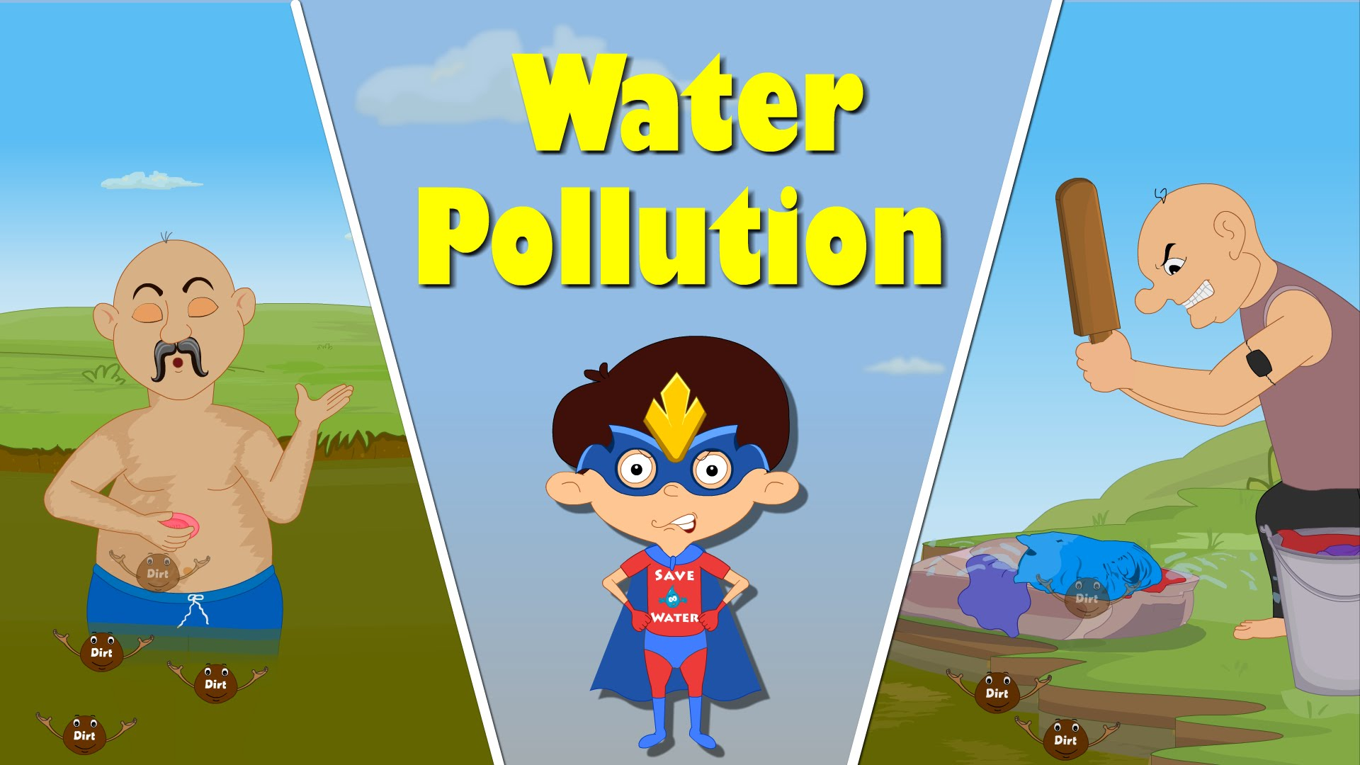 Water Pollution For Kids Clipart