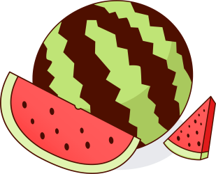 watermelon clipart clip animated plant melon semangka slice watermelons seed cute slices cartoon cliparts clipground clipartmag library fruits stroller clipartix