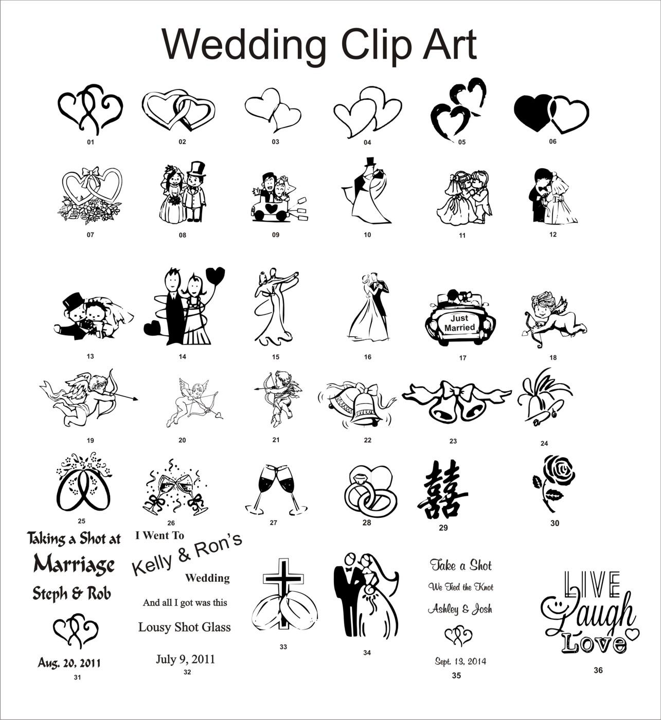 Wedding Banquet Clipart