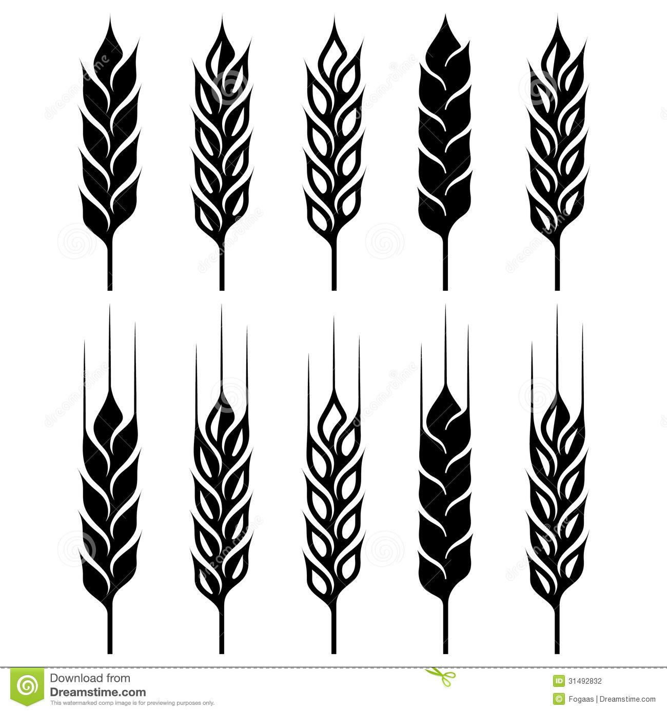 Wheat Ear Clipart