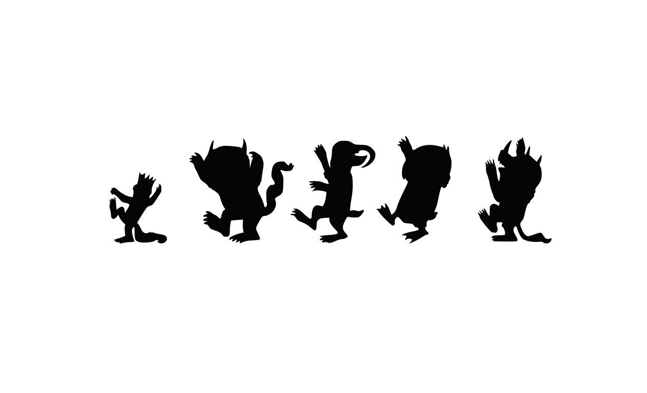 where the wild things are characters clip art 10 free