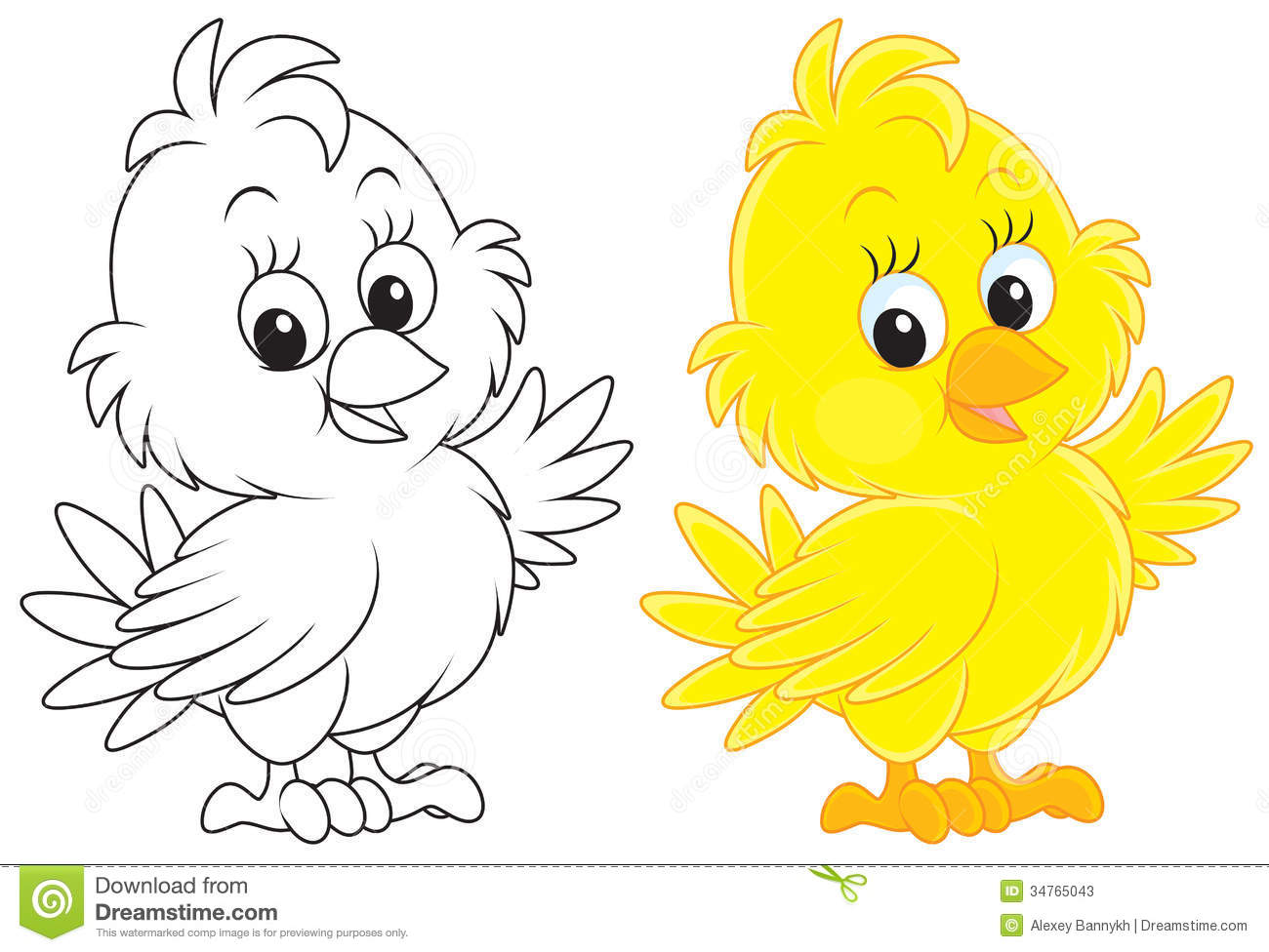Yellow And White Clipart