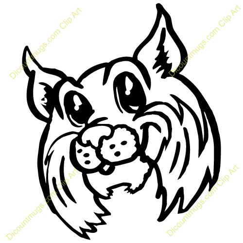 Bulldog Muscles Cartoon