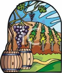 winery clipart royalty vineyard grape clip cartoons food clipground week related