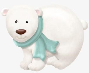 winter clipart bear polar clip clipground