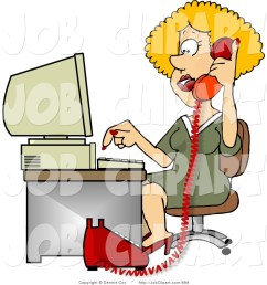 woman new job clipart woman talking on phone and [ 1024 x 1044 Pixel ]