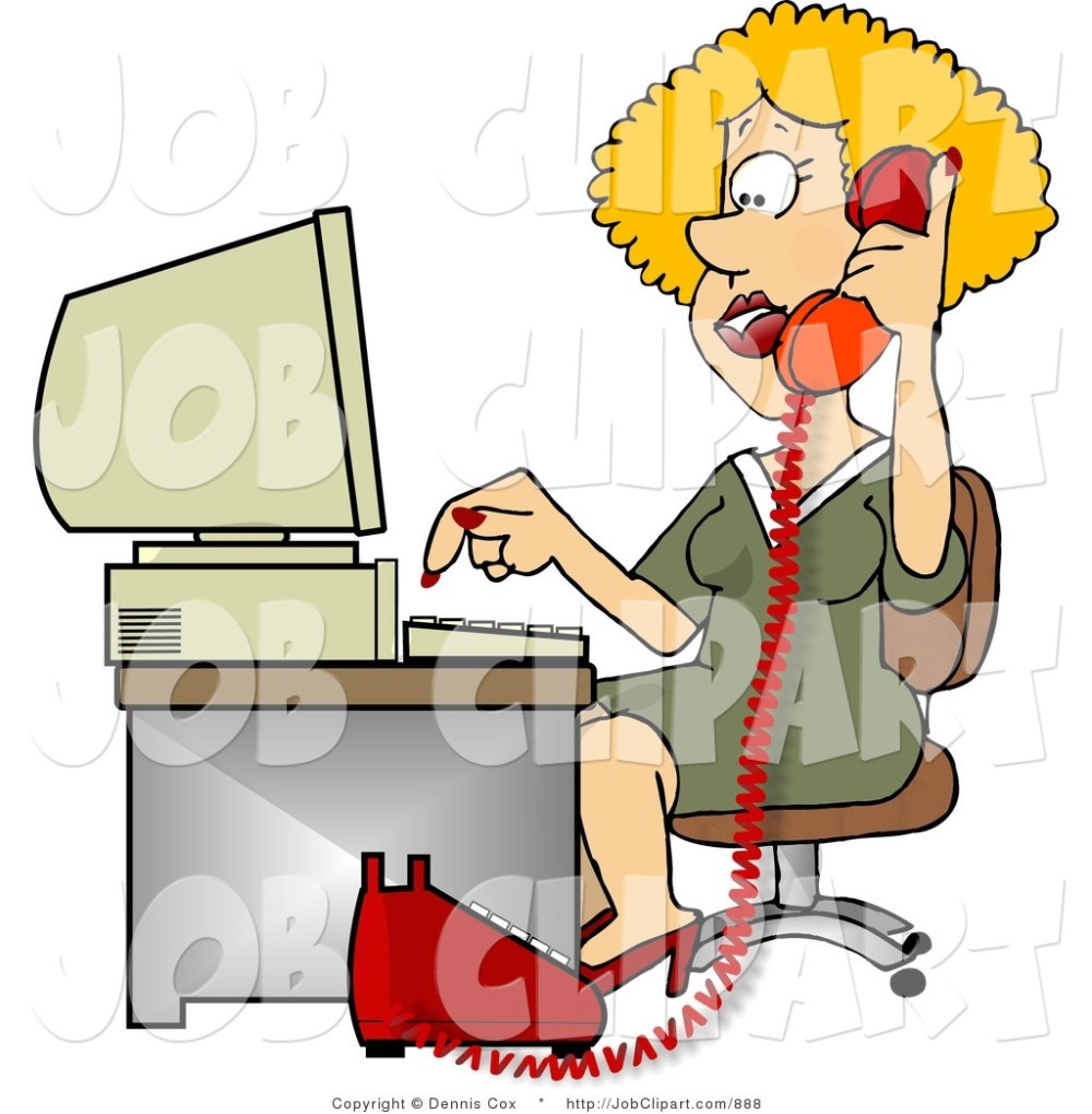 medium resolution of woman new job clipart woman talking on phone and