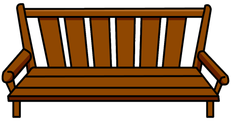 bench clipart wood furniture clip club icon wiki clipground penguin cliparts porch information library wikia