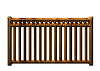 Wood railings clipart