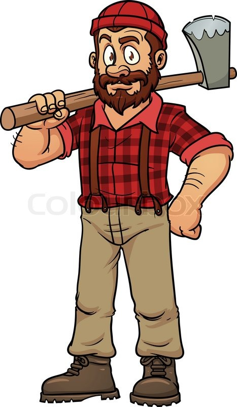 Woodcutter Clipart Clipground