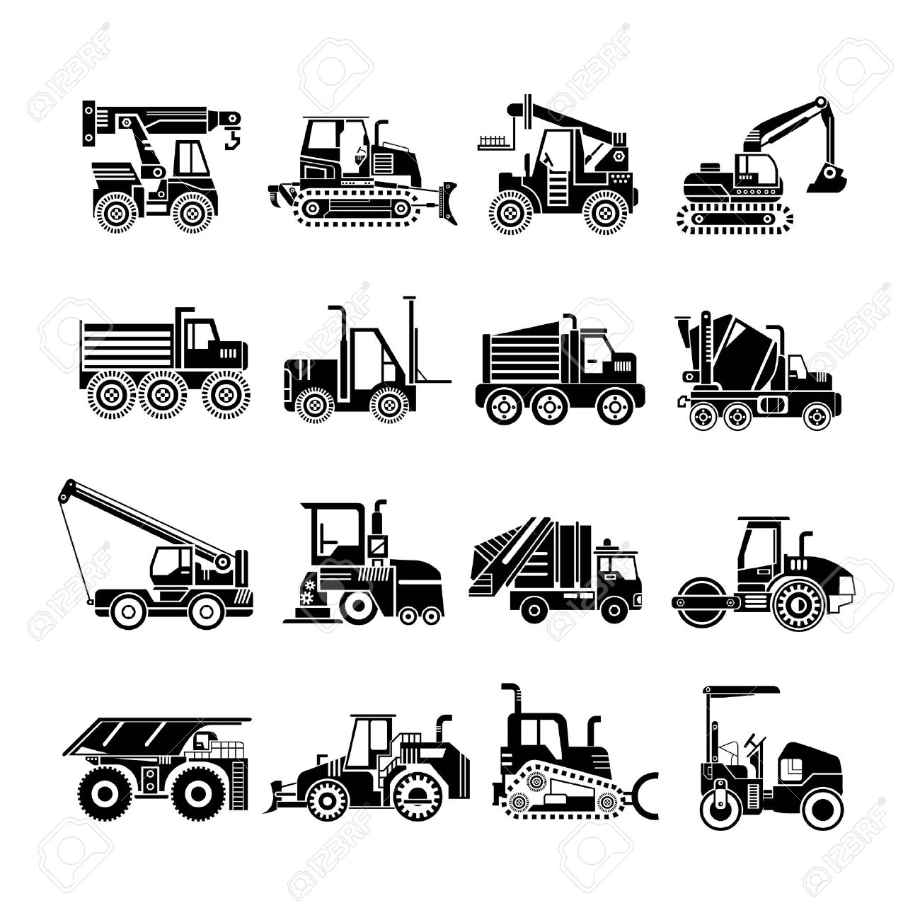 Work Vehicles Clipart 20 Free Cliparts