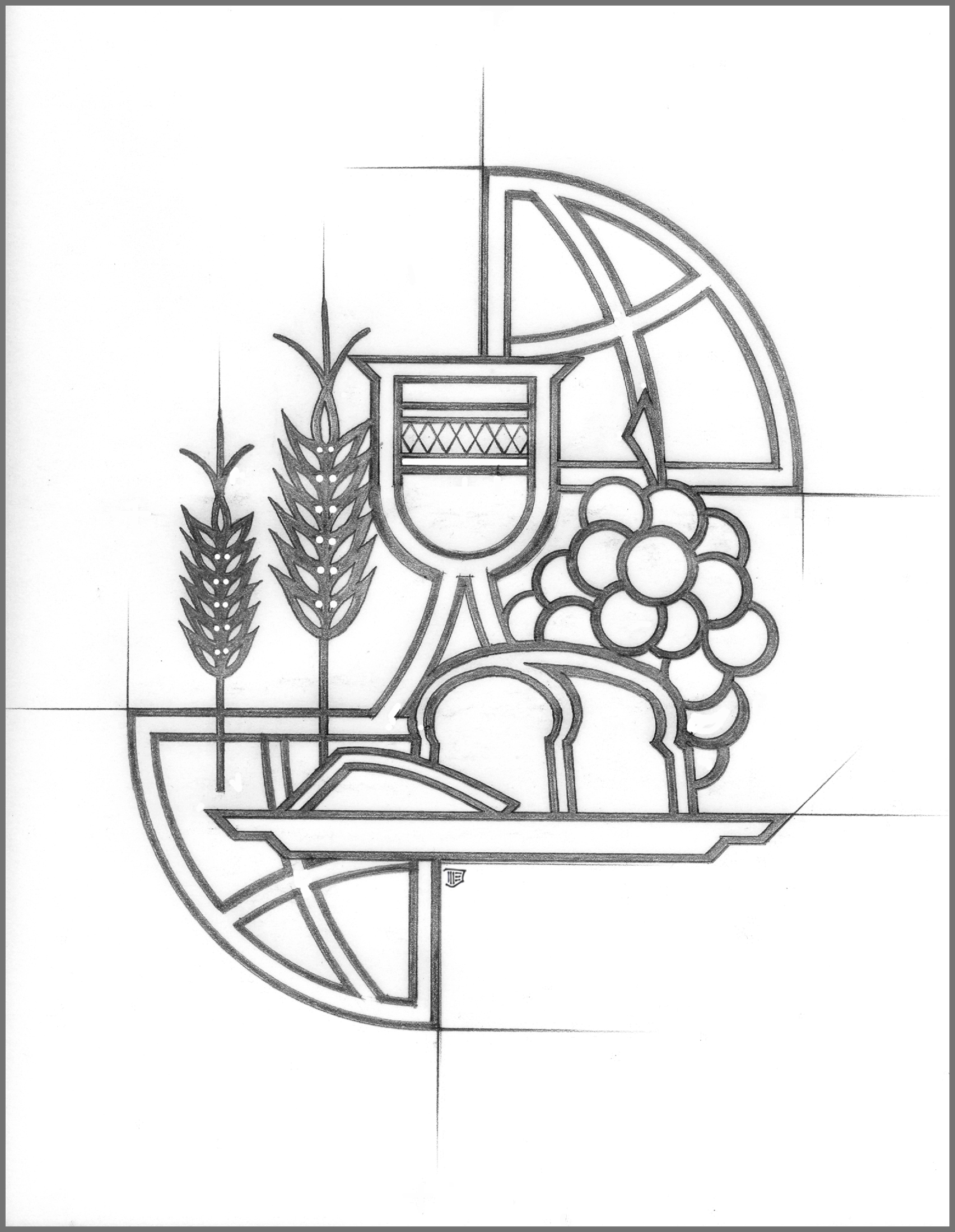 World Communion Sunday Coloring Page Coloring Pages