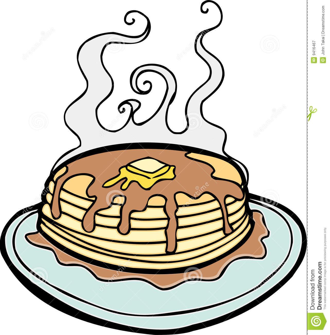 hight resolution of pancakes stock illustrations