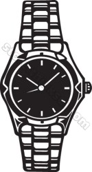 clipart wrist clip things watch02 fotosearch objects illustration clipground cliparts graphic