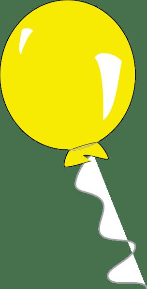 yellow balloon clipart 20 free