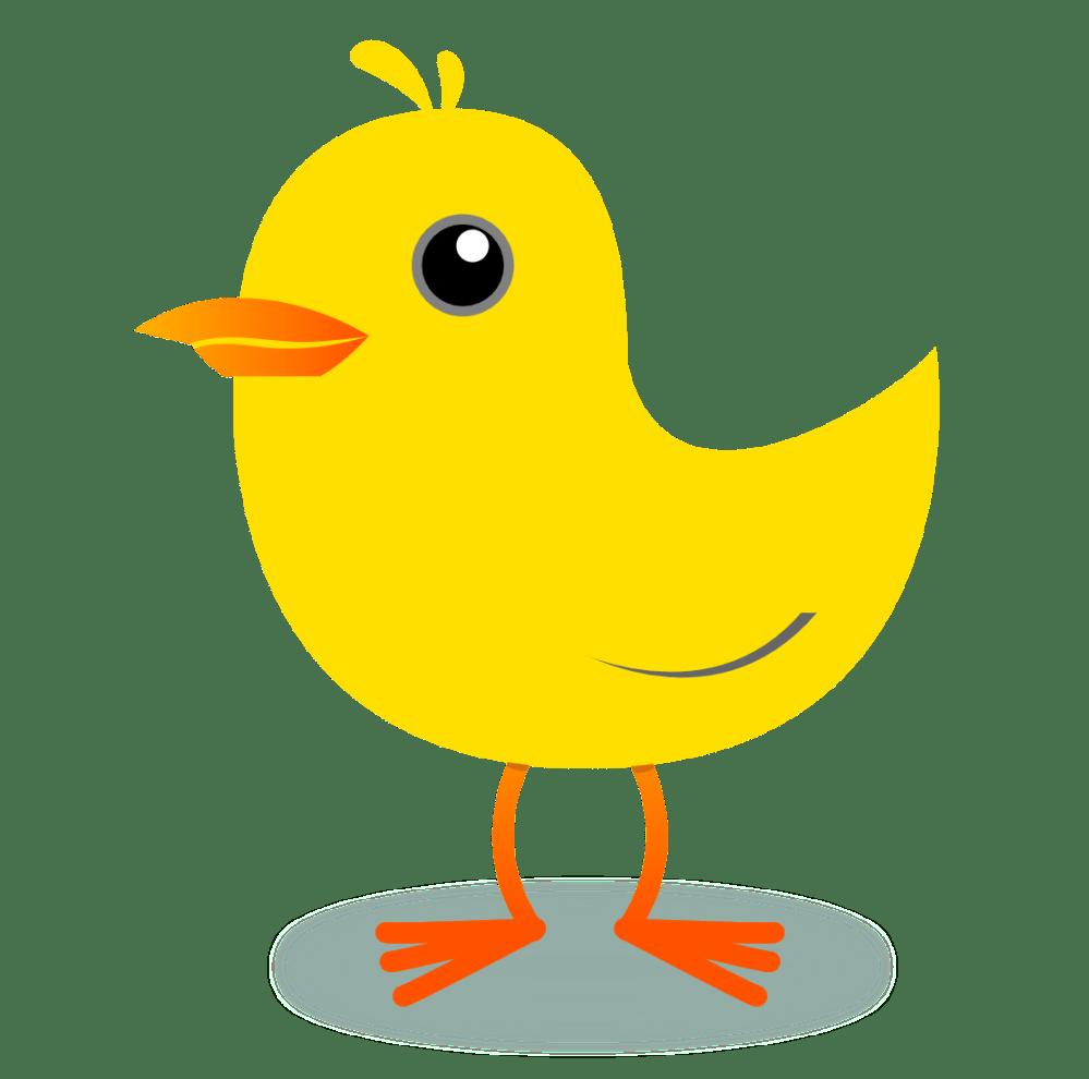 medium resolution of yellow bird clipart
