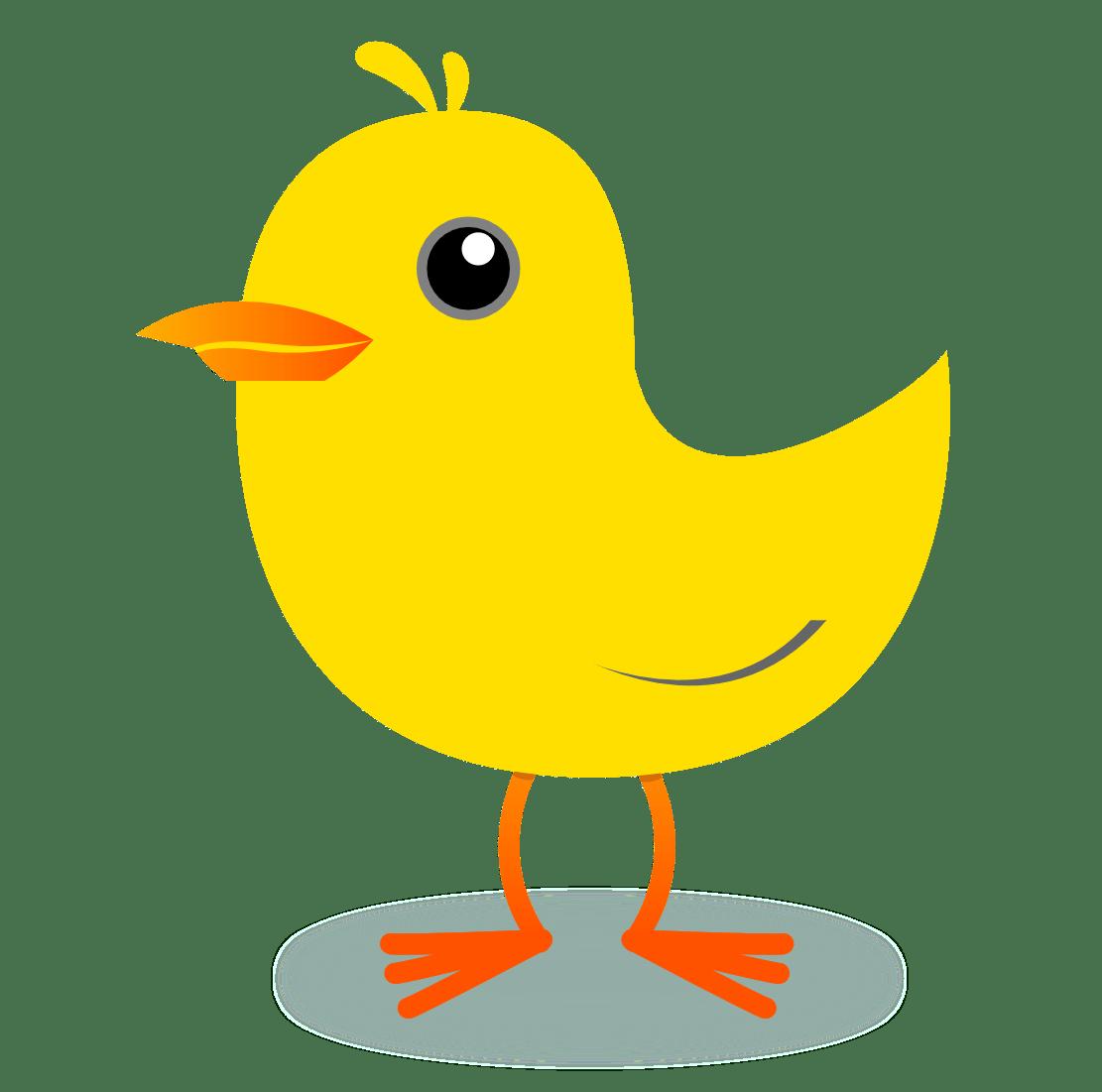 hight resolution of yellow bird clipart