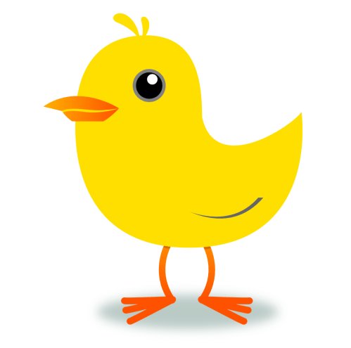 small resolution of yellow bird clipart