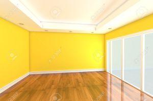yellow empty clipart muur gelb wand lege parede gelbe quarto amarela kamer verfraaide geel ingericht ruimte vazio zimmer gele clip