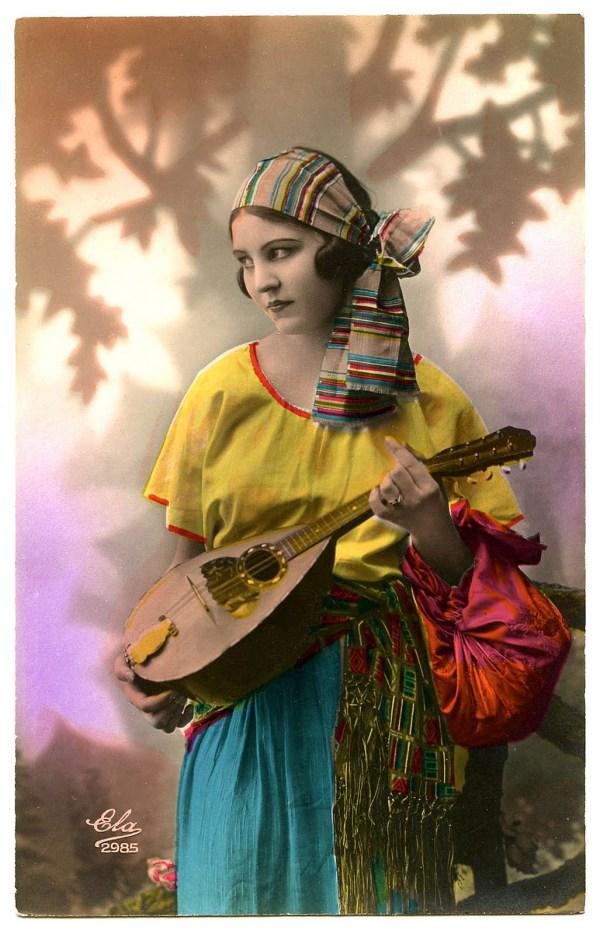 Vintage Gypsy Art