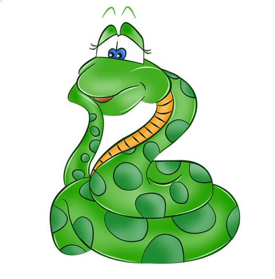 Young snake clipart - Clipground
