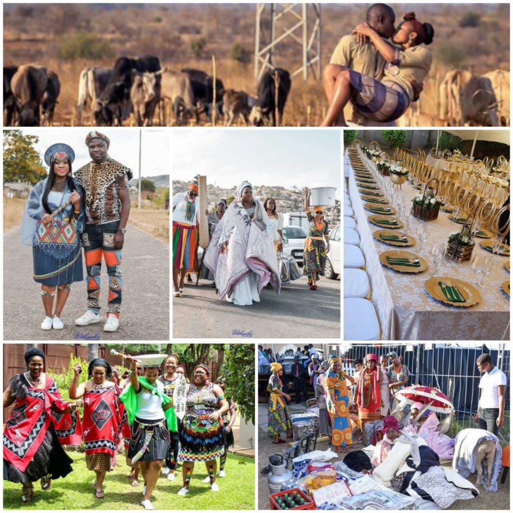 Zulu Wedding Invitation Cards