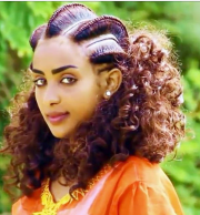 beautiful eritrean braiding hairstyle