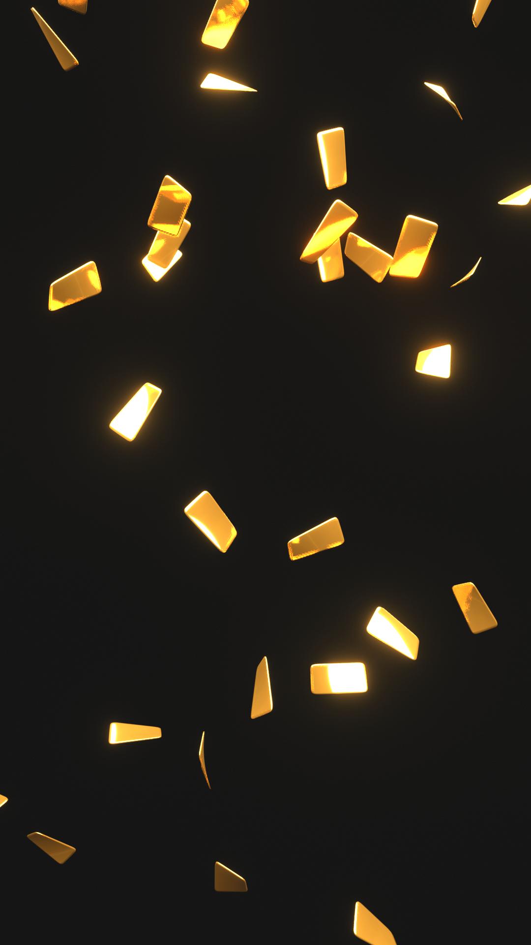 Confetti Gif Transparent Background : confetti, transparent, background, Confetti, Royalty-Free, Video, Overlay