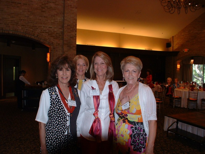 Marcella Gleason, Lynn Bailey, Kathy Logan Smith & Marie Solomon