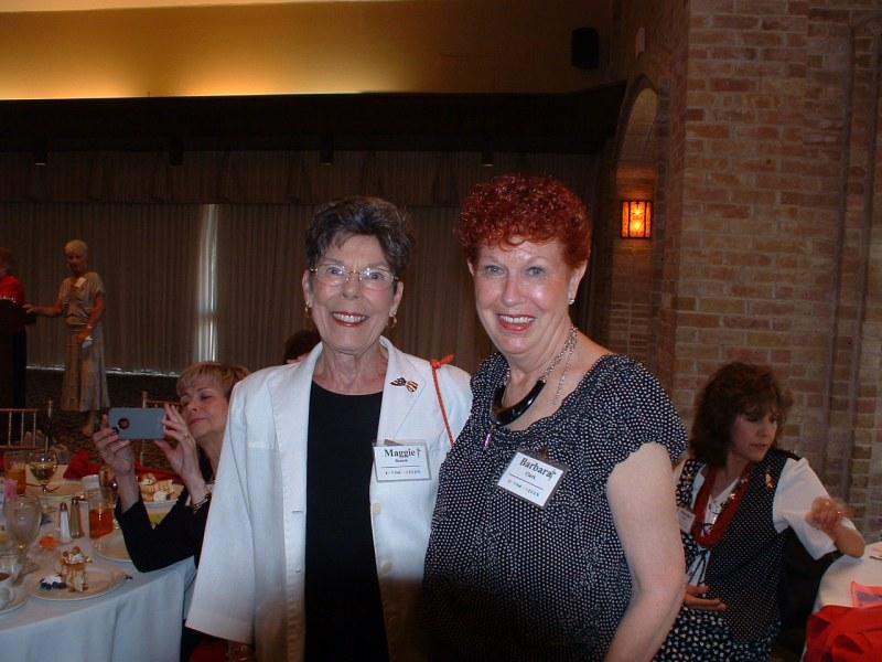 Barbara Clark & Maggie Benesh
