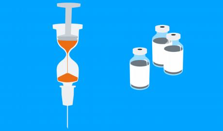 illustration covid 19 vaccine