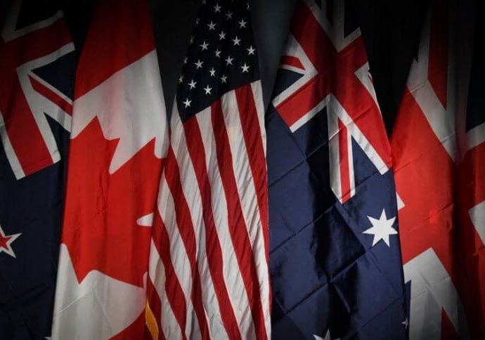 The countries in The Five Eyes