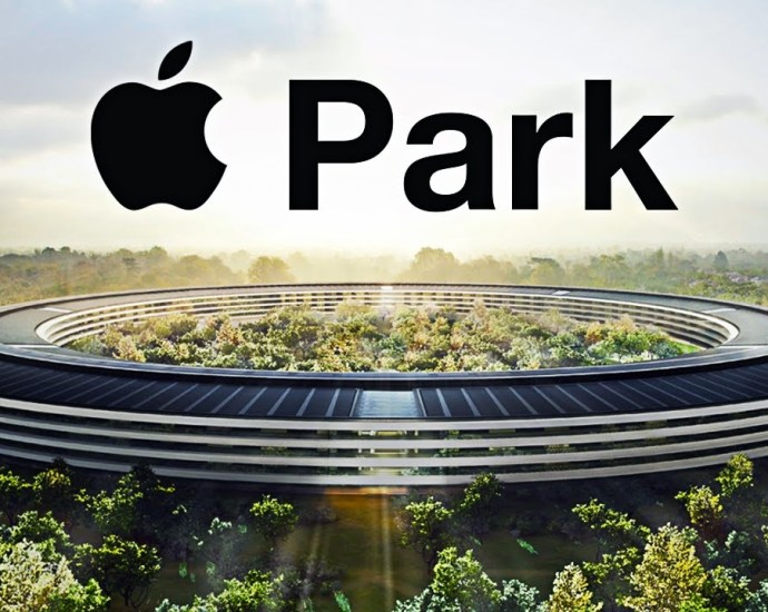 The new Apple Headquarters in California
