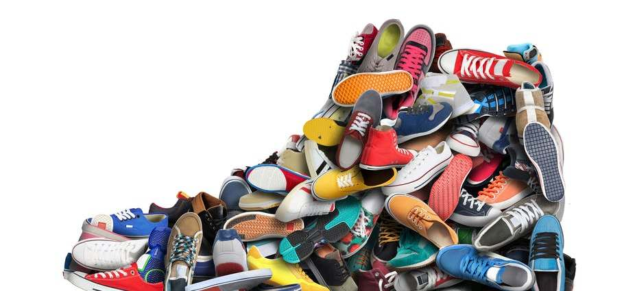 Sneakers have become highly covetable collectors' items. Zarya Maxim Alexandrovich/ Shutterstock