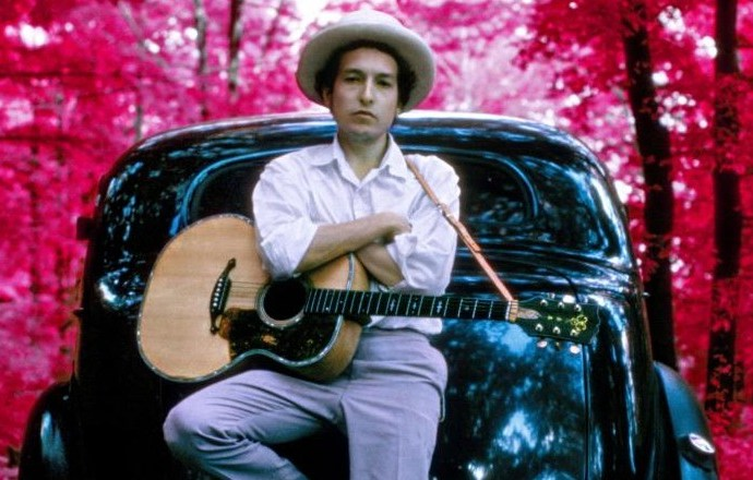 Bob Dylan in 1968 at his home in Woodstock, New York MAGNUM PHOTOS