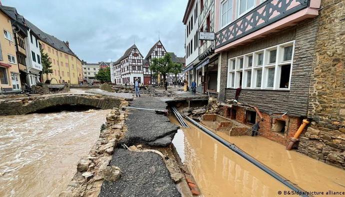 Flooding in North Rhine-Westphalia