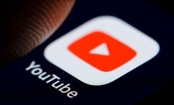 The logo of video-sharing website YouTube is displayed on a smartphone on November 19, 2018 in Berlin, Germany. Thomas Trutschel | Photothek via Getty Images